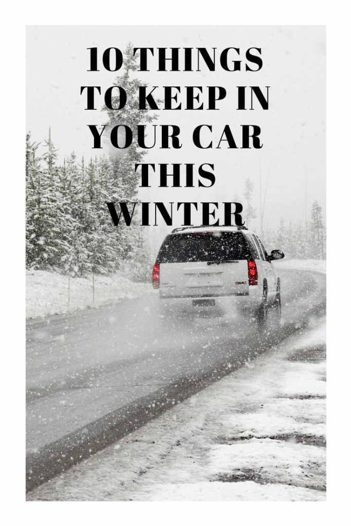 things to keep in your car this winter