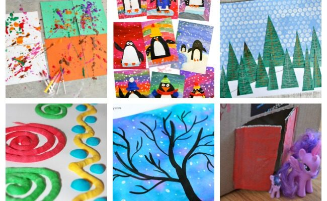 11 Easy Art Activities to Do At Home