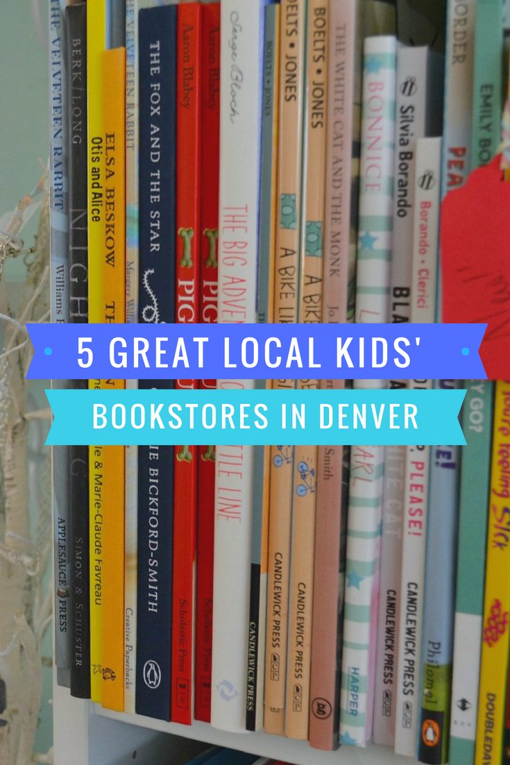 5 great local kids' bookstores in the Denver area