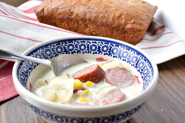 Simple and delicious sausage soup for busy nights