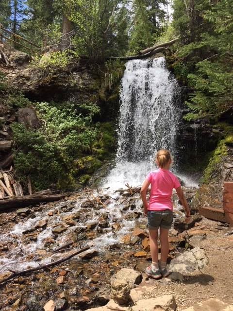 YMCA Snow Mountain Ranch waterfall hike