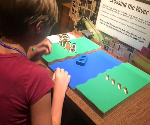 Work your brain in the Mindbender Mansion at the Denver Museum of Nature and Science
